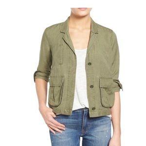 Madewell cargo army jacket